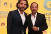 Pablo Trapero and 'The Clan' star Guillermo Francella