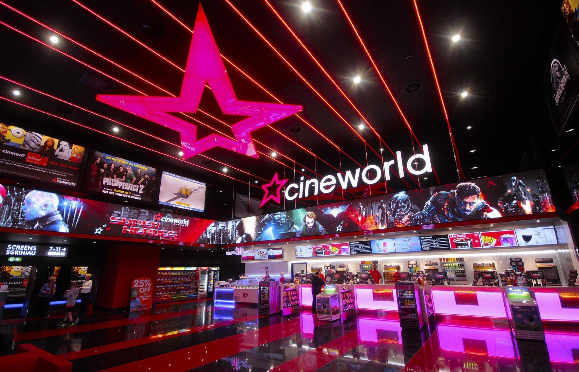 Cineworld set to create world's second-largest cinema ...