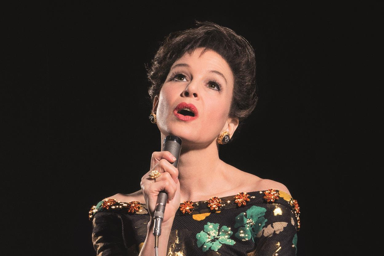 First look Zellweger as Judy Garland