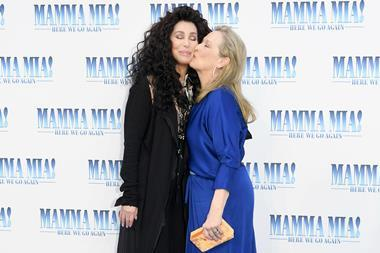 Mamma Mia! Here We Go Again London premiere