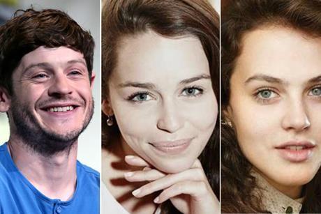 Stars of Tomorrow - Iwan Rheon, Emilia Clarke, Jessica Brown-Findlay