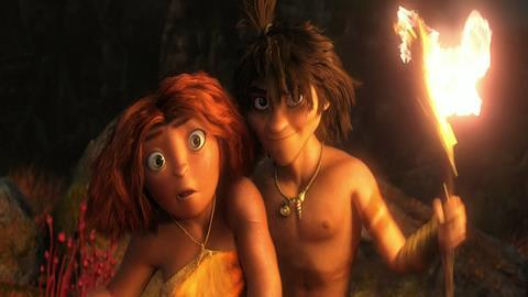 The Croods Reviews Screen