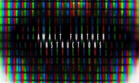 Await Further Instructions To Shoot At Gsp Studios News Screen
