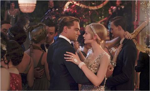 The Great Gatsby Reviews Screen