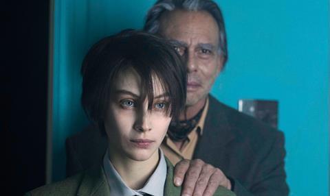 First Look Sarah Gadons Radical New Look In Octavio Is Dead