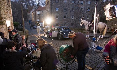 Scottish shoot