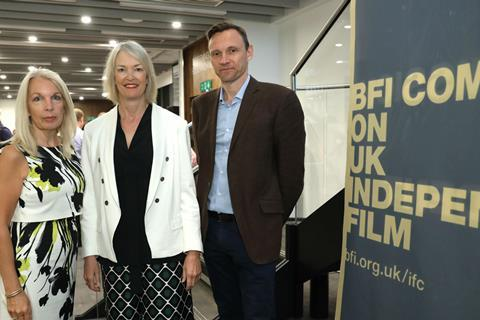 Amanda Nevill, Margot James, Zygi Kamasa bfi