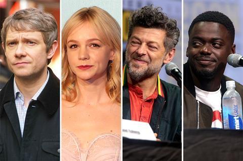 A Christmas Carol Cast.Carey Mulligan Daniel Kaluuya Andy Serkis Lead Voice Cast
