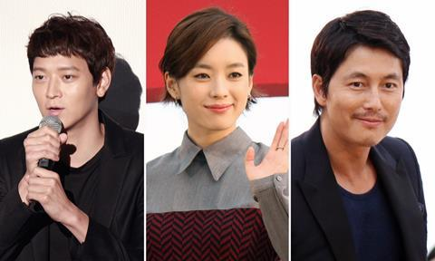 Gang Dong-won, Han Hyo-joo and Jung Woo-sung