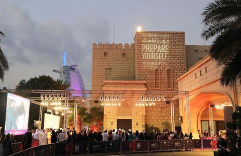 Dubai international film festival 2016 atmosphere