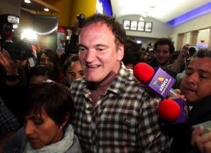 Quentin Tarantino in Morelia