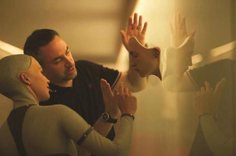 Ex Machina_Alicia Vikander and Alex Garland