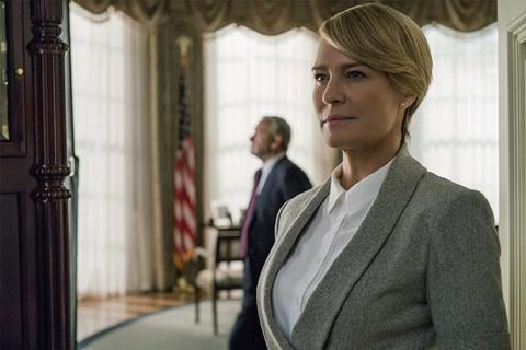 Robin wright netflix house of cards