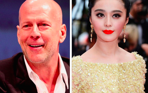 Bruce Willis and Bingbing Fan