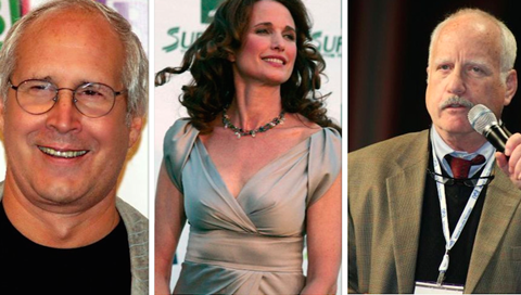 Chevy Chase, Andie MacDowell, Richard Dreyfuss
