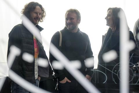 Rian Johnson Ram Bergman Kathy Kennedy