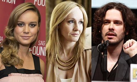 Brie Larson JK Rowling Edgar Wright