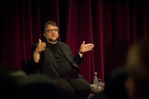 Guillermo del Toro speaks to NFTS students