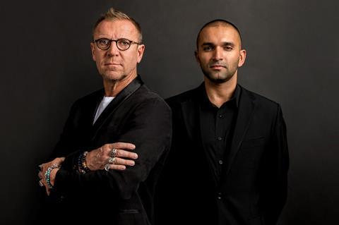 renny harlin and producer daljit dj parmar extraordinary entertainment