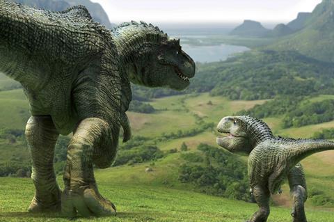 Dino king journey to fire mountain