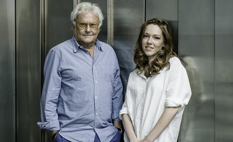Sir Richard Eyre and Charlotte Spencer