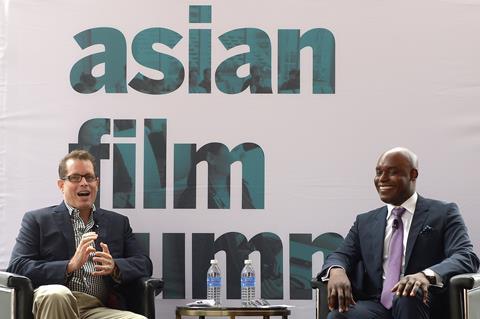 Asian Film Summit Toronto Peter Loehr Cameron Bailey