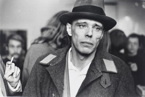 Joseph Beuys (1972, credit, Andres Veiel)