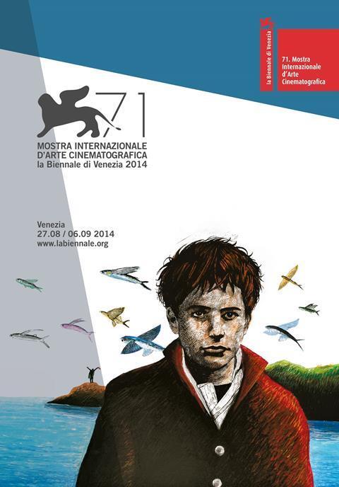 Official Poster 71st Venice Film Festival