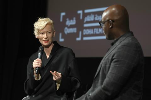 Tilda Swinton at Qumra masterclass