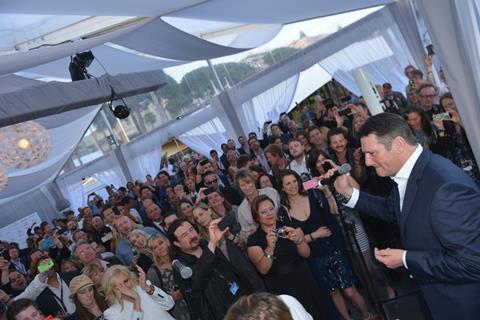 Spandau Ballet party Cannes 2014