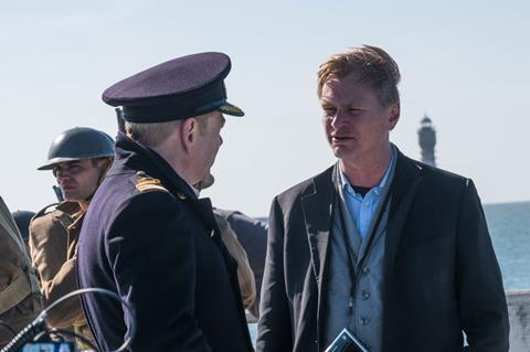 Christopher nolan dunkirk bts bb 06238