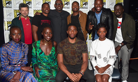 Black Panther Comic-Con panel