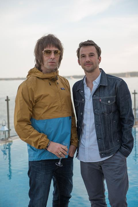 Liam Gallagher Mat Whitecross 2