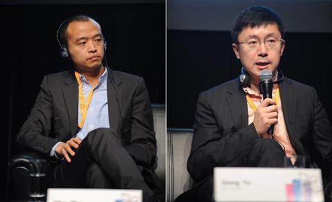 Allen Zhu (Youku Tudou), Gong Yu (iQiyi)