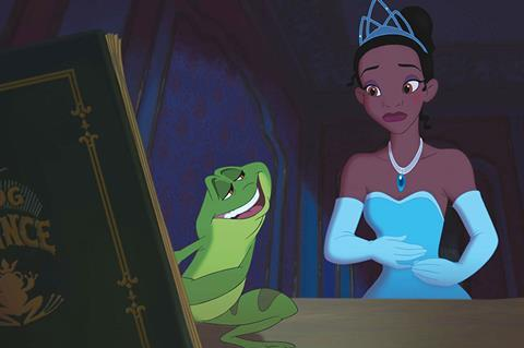 princess frog c disney