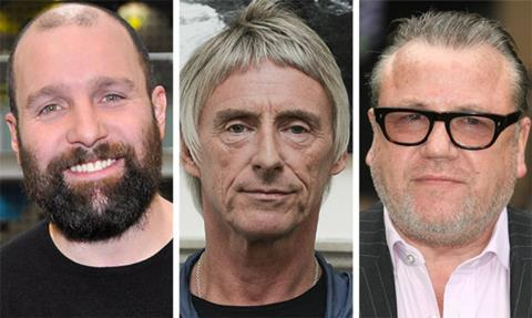 Johnny Harris Paul Weller Ray Winstone