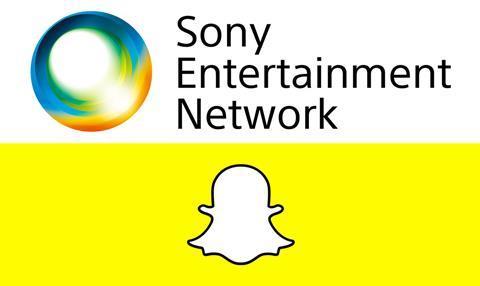 Sony Entertainment Snapchat