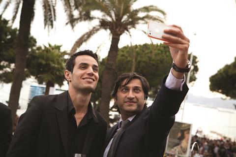 Adam Bakri (L) and Asif Kapadia