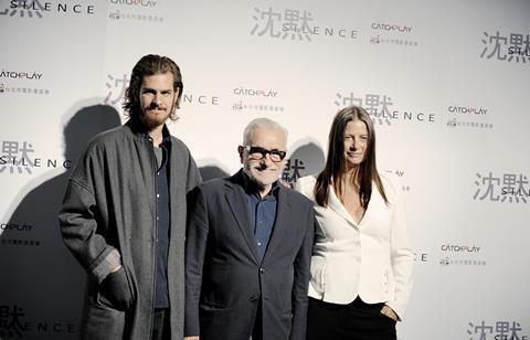 Andrew Garfield Martin Scorsese