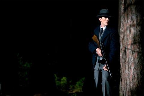 Christian Bale in Michael Mann's Public Enemies