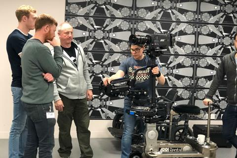 guild of british camera technicians gbct steadycam c creative skillset skills fund
