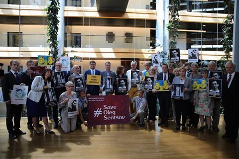Save Oleg Sentsov European Parliament