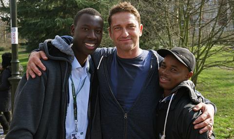 Gerard Butler films without borders