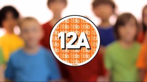 BBFC 12A ad