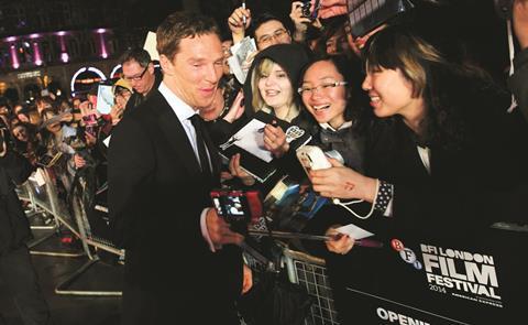 BFI London Film Festival 2014 Benedict Cumberbatch