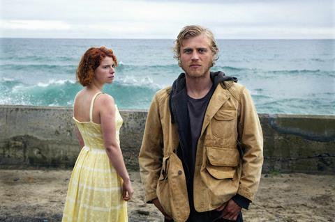 A3 jessie buckley (moll) and johnny flynn (pascal) in beast photgrapher kerry brown