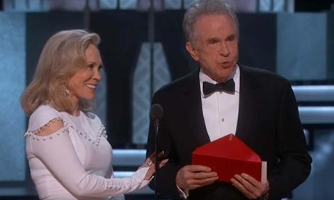 Best picture Oscar gaffe