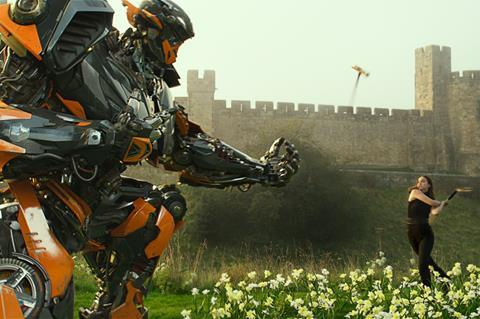 Transformers the last knight paramount