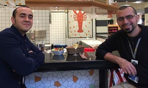 Muayad and Rami Alayan
