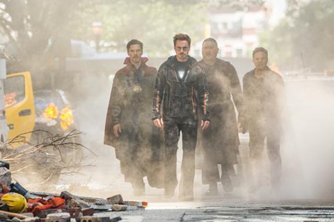 avengers infinity 5 war marvel studios